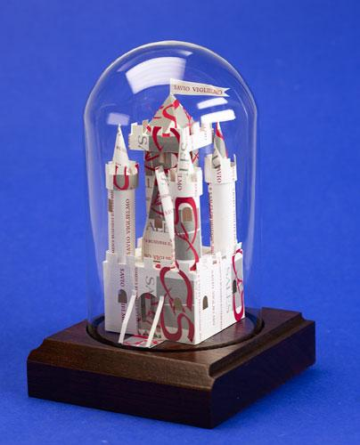Castle sculpture. Gift for realtor, agent or broker.