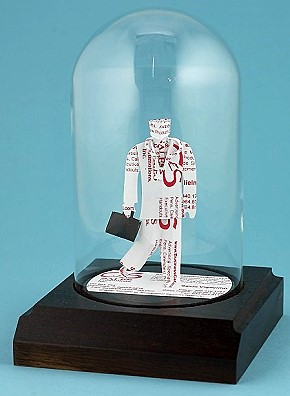 Business card sculpture doctor