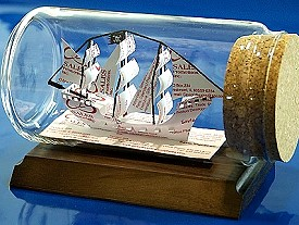 ship in a bottle gift