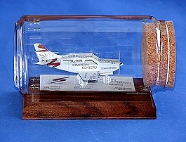 pilot gift airplane sculpture